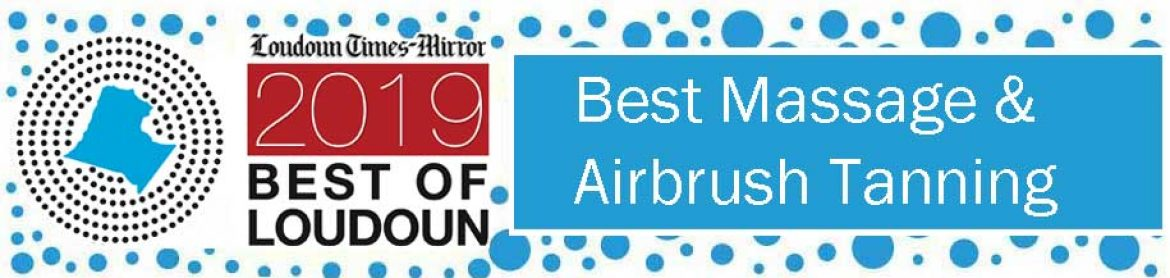 Voted AGAIN for the 2019 Best Massage Practice in Loudoun County!